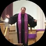 Paster Ken from the Cedar Lake United Methodist Church in Cedar Lake Indiana