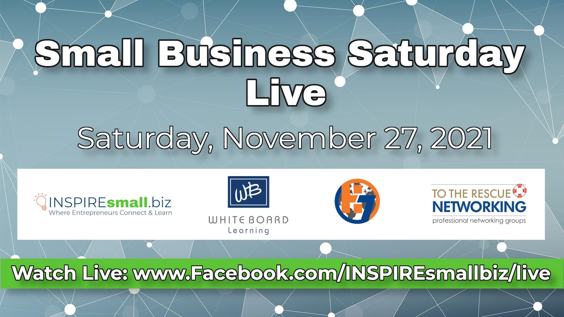 Small Business Saturday Live